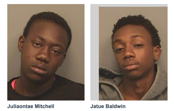 Two Teens Arrested for Armed Carjacking