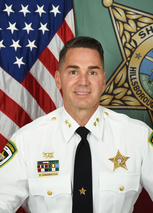 Sheriff Chad Chronister Official Photo
