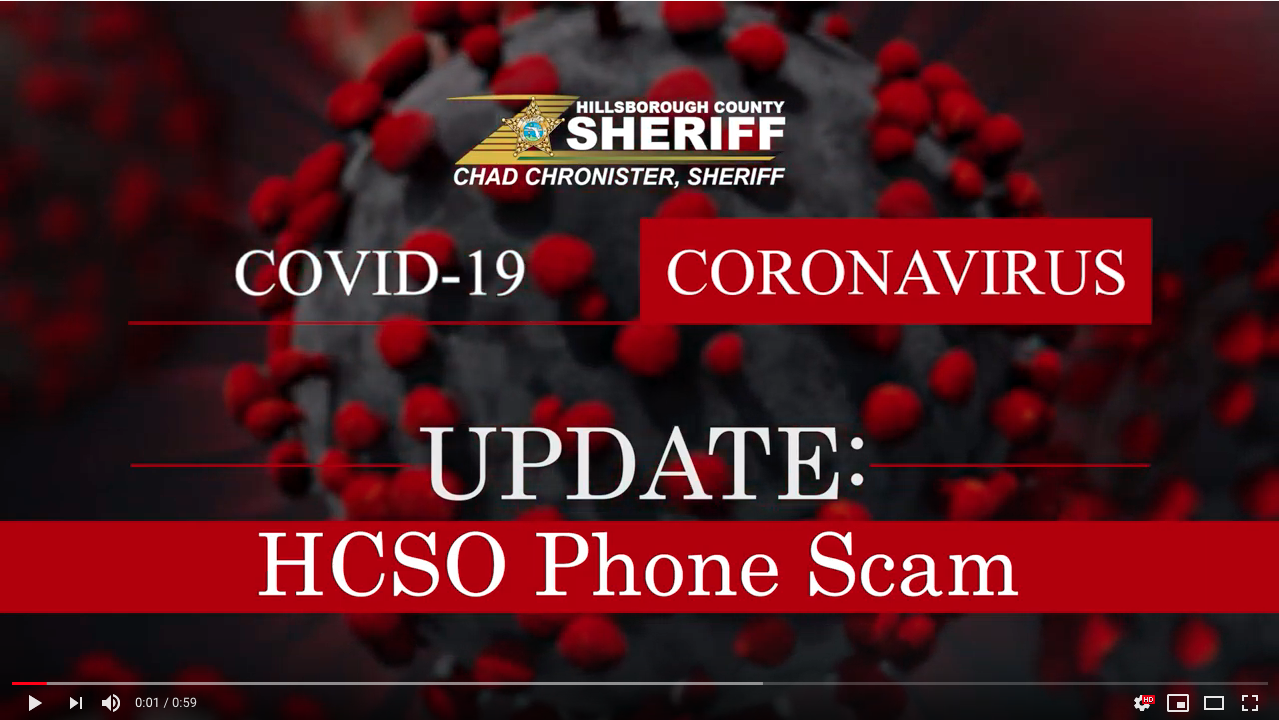 HCSO warns against scam involving callers posing as deputies