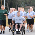 image of deputies participating in fundraiser race