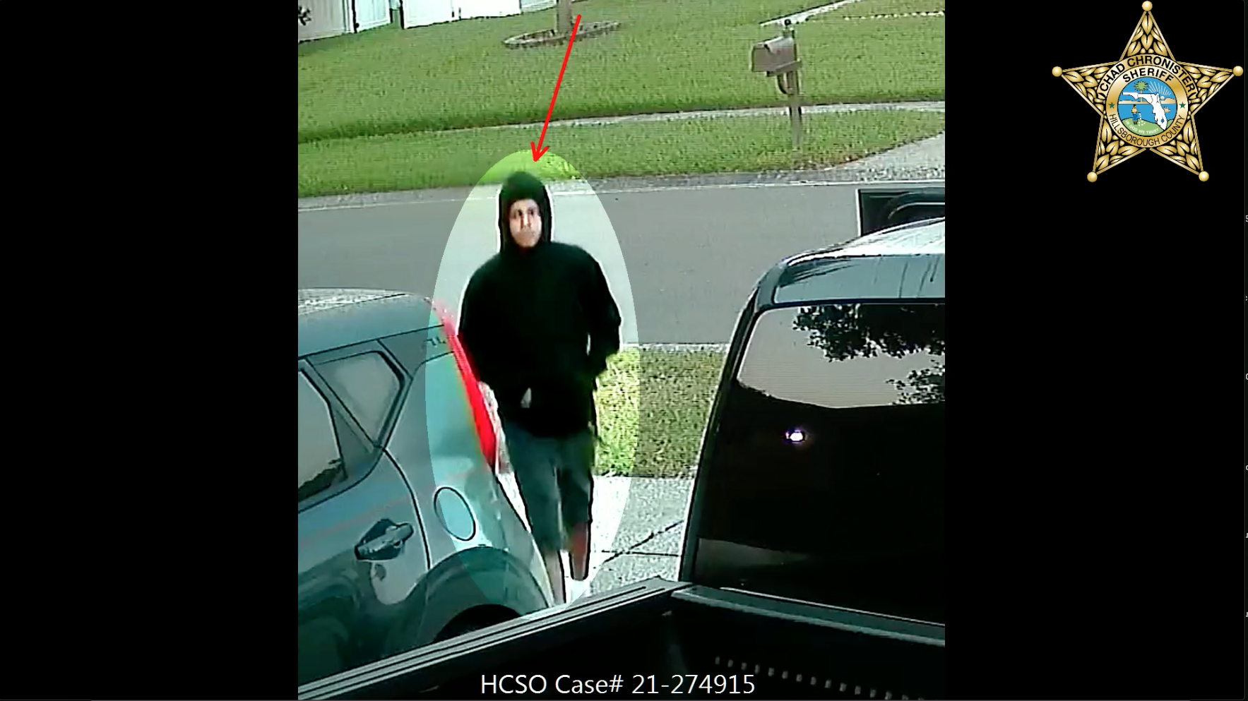 Unlocked car door helps suspects burglarize home