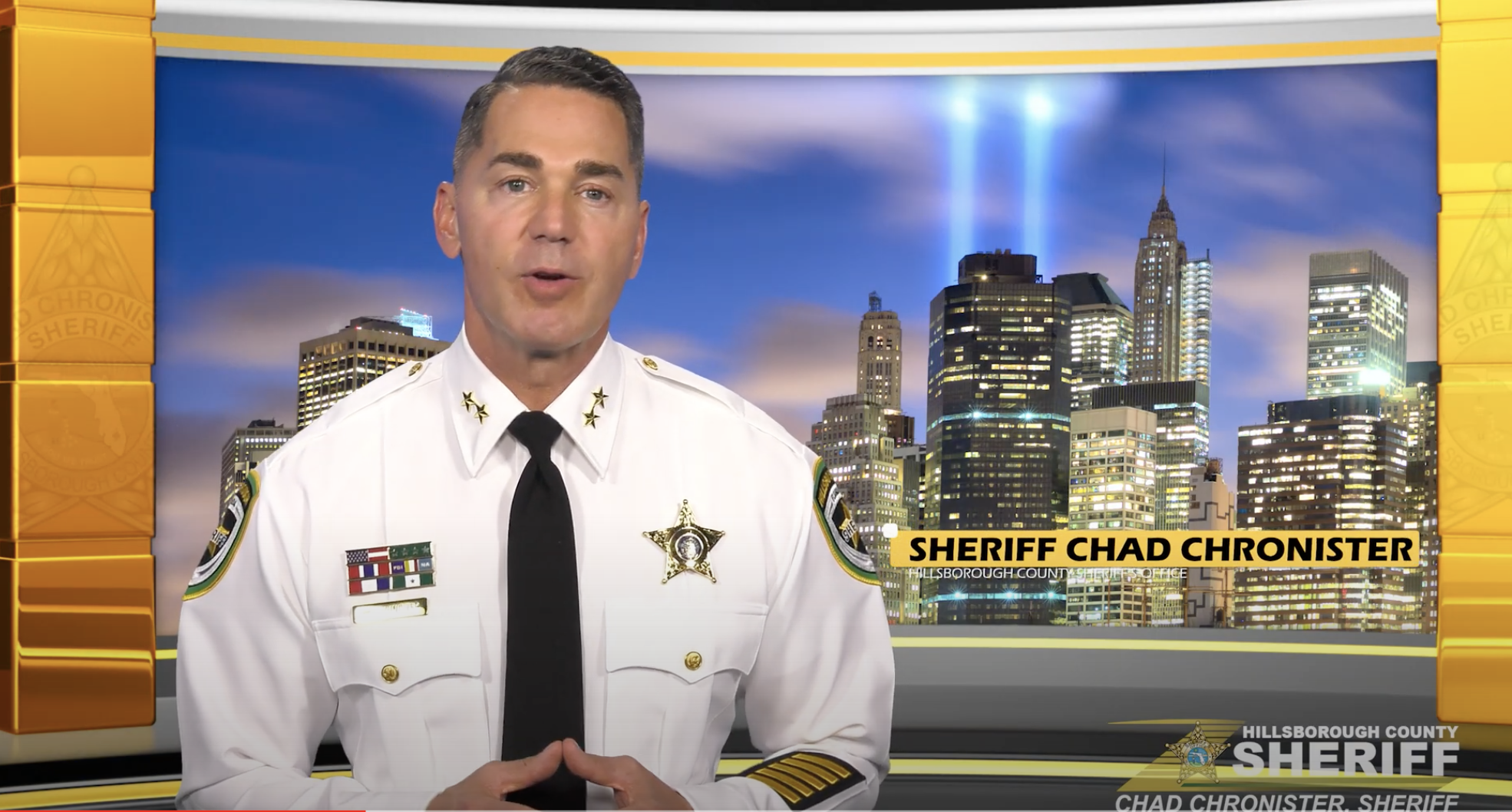 Sheriff Chad Chronister leads 9/11 commemoration