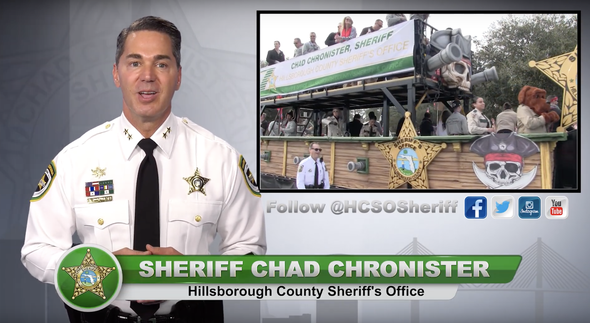 Gasparilla underage drinking warning issued by Sheriff Chad Chronister